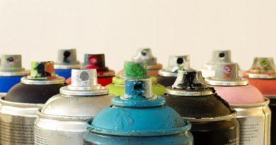 Jak malować farbami w sprayu?